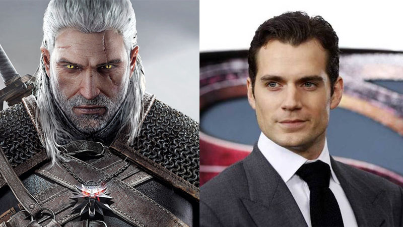 henry cavill - The Witcher 3