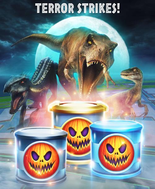 Jurassic World Alive - Halloween Eventos Especiais