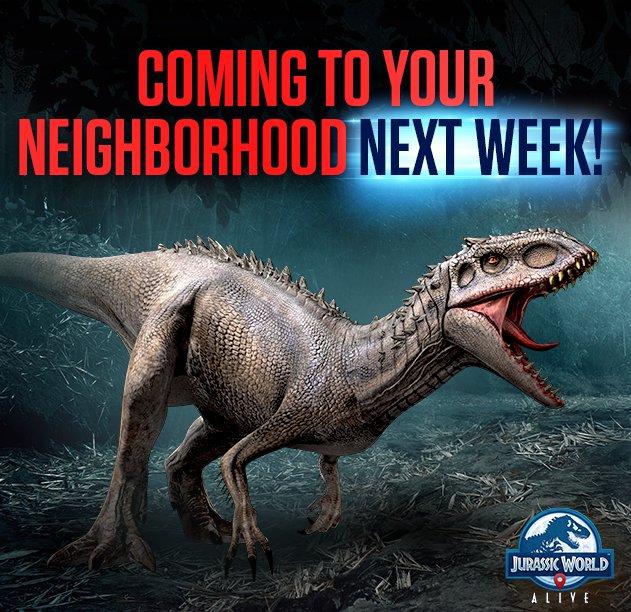 Indominus Rex - Jurassic World alive