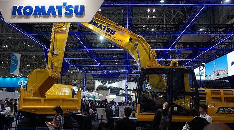 Komatsu anuncia veículos de construção autônoma