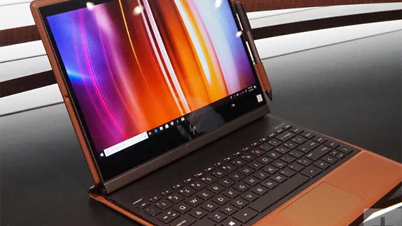 HP Spectre Folio é um laptop premium com acabamento em couro