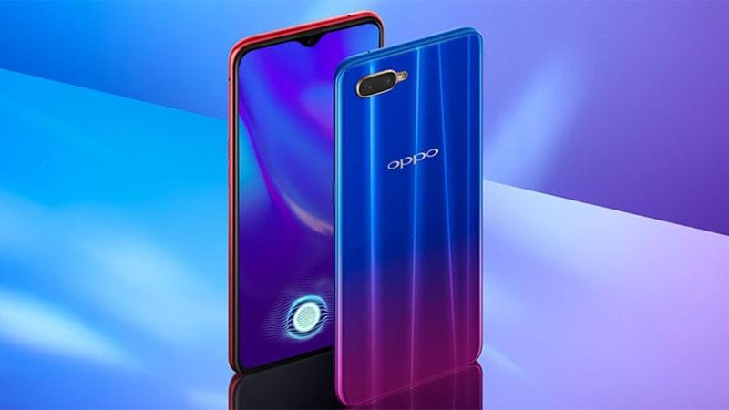 Oppo K1 é o smartphone com sensor de impressão digital sob a tela mais acessível do mercado