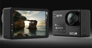 SJ8 é a super câmera de ação da SJCAM que é sinônimo de qualidade e satisfação