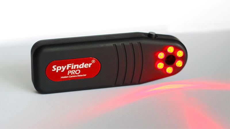 SpyFinder Pro é um dispositivo que ajuda você a detectar câmeras escondidas