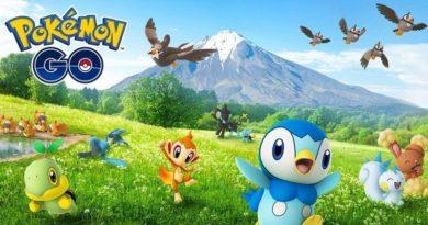 4ª geração de monstrinhos finalmente chega à Pokémon GO