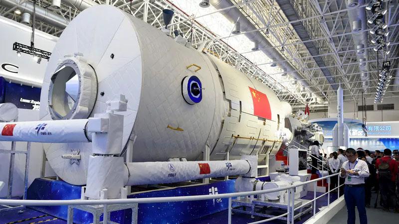 China revela nova estação espacial que deve entrar em órbita futuramente