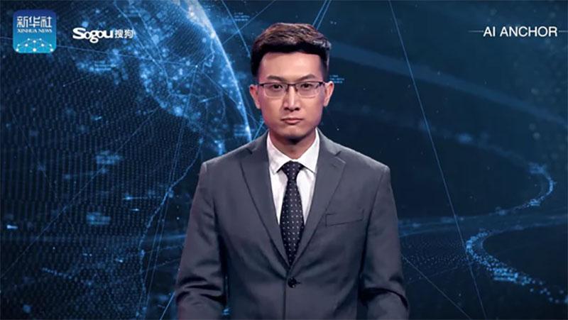 China cria âncora de jornal não-humano que pode trabalhar 24 horas por dia