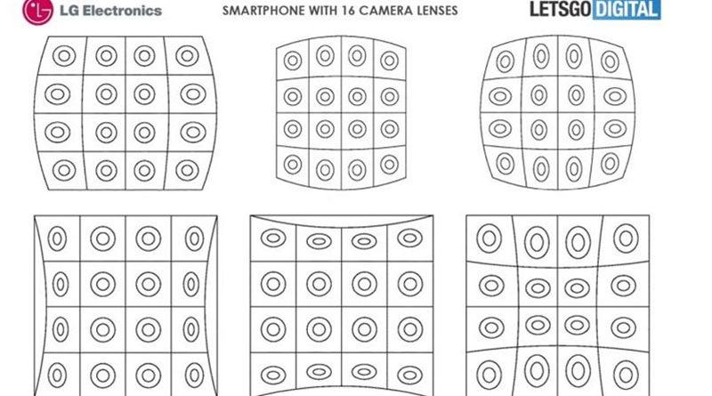 Futuro smartphone da LG poderá ter 16 câmeras traseira