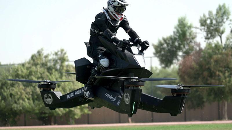 Hoversurf apresenta o Hoverbike, veículo voador tripulado de US$ 150.000
