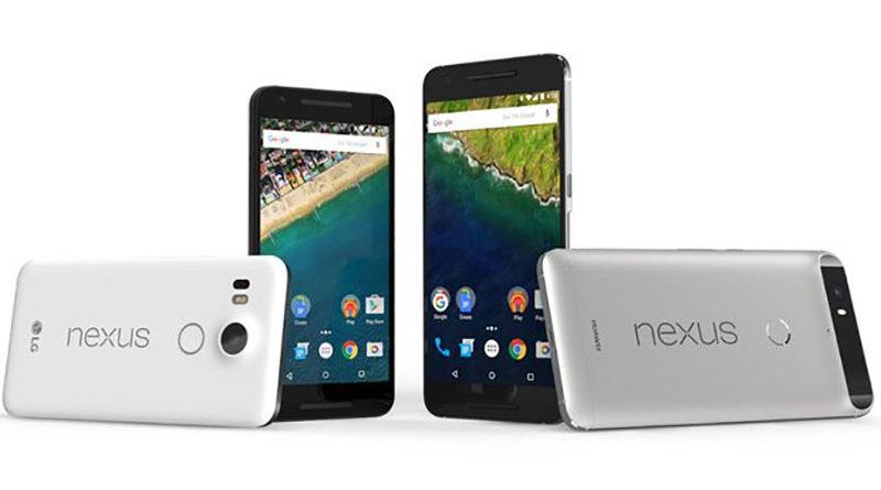 Nexus 5X e 6P do Google deixarão de ser atualizados em breve