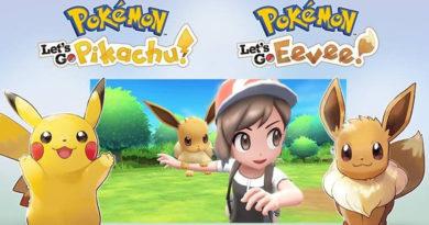 Pokémon Let's Go, Pikachu! e Eevee!