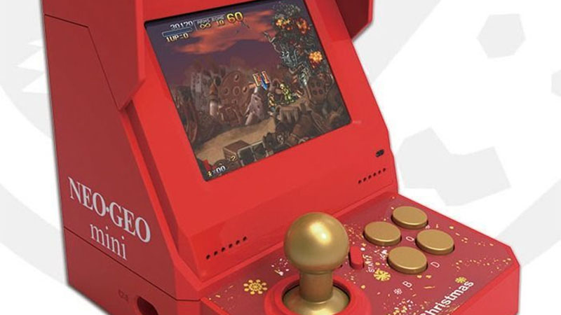 SNK lança edição de natal do Neo Geo Mini