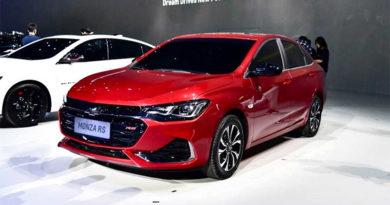 Diversas imagens do novo Chevrolet Monza 2019 aparece na internet