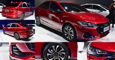 Chevrolet Monza 2019 chegará com design espetacular e motor 1.3 turbo