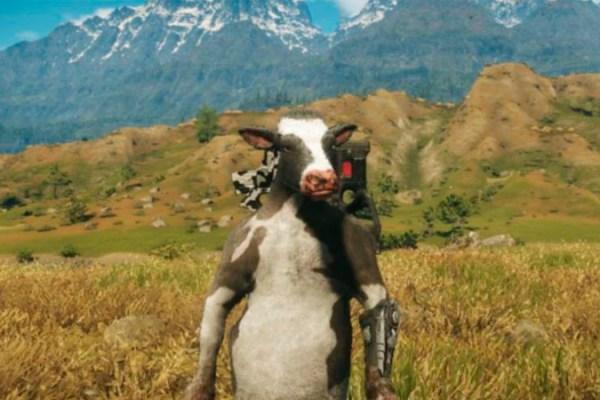 Conheça a arma que transforma pessoas em vaca em Just Cause 4
