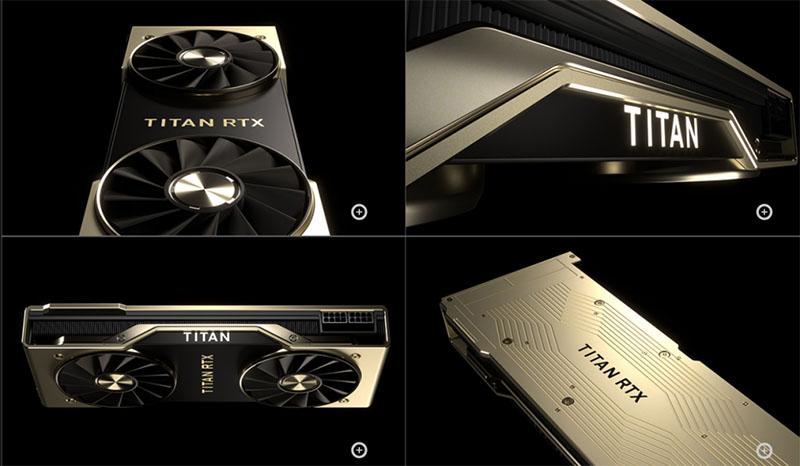 Esta é a NVIDIA RTX Titan, a placa de vídeo mais poderosa da história