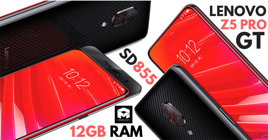 Lenovo Z5 Pro GT é lançado com 12 GB de Ram e Snapdragon 855 (2)