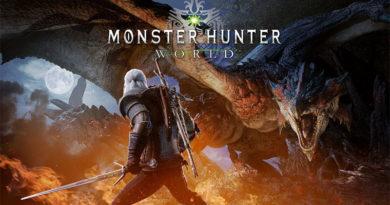 Monster Hunter World - Geralt de Rivia