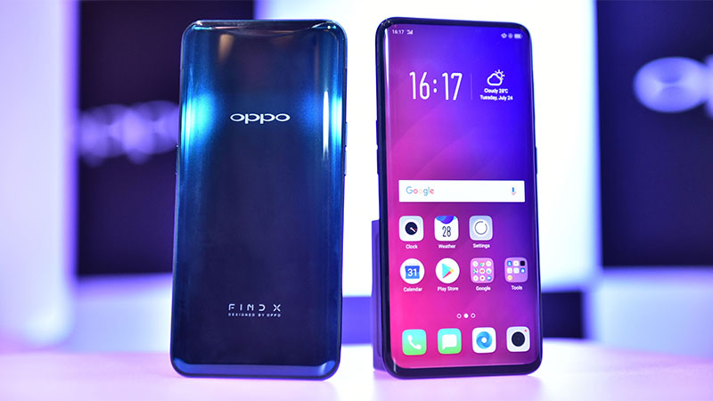 OPPO Find X possui tela AMOLED de 6,42 polegadas e bateria 3750mAh