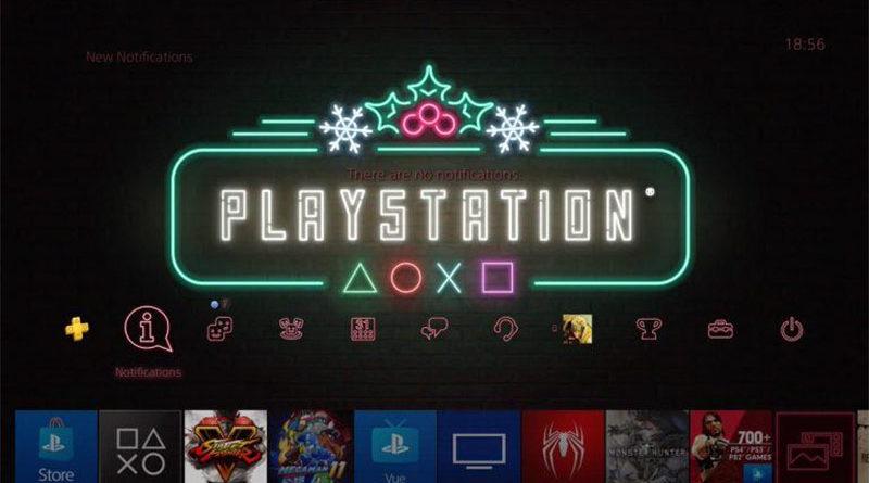 PlayStation Holiday Theme confirma que PlayStation 5 pode ser revelado em 2019