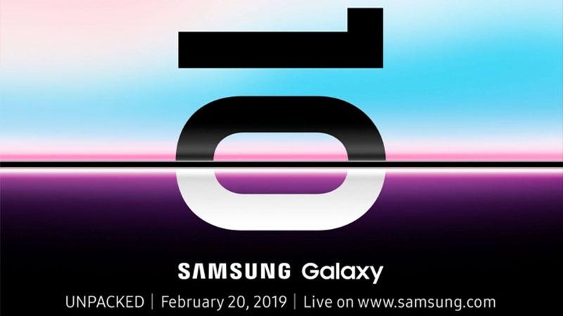 Agora é oficial, Samsung Galaxy S10 será lançado em 20 de fevereiro