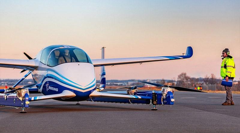 Boeing realiza com sucesso primeiro voo de seu táxi aéreo autônomo