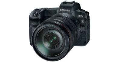 Câmera EOS R da Canon deve ser lançada com 100 MP