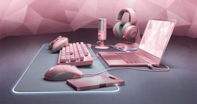 Conheça o Quartz, nova linha de periféricos em cor rosa da Razer