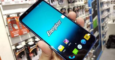 Energizer vai apresentar 26 novos smartphones na MWC 2019, um é dobrável e outro tem bateria de 18.000 mAh