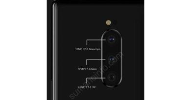 Imagem da parte traseira do Sony Xperia XZ4 vaza na internet