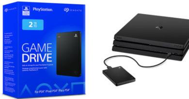 Seagate lança disco rígido de 2 TB para PlayStation 4