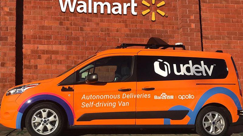 Walmart vai usar vans autônomas para entrega de mantimentos no Arizona