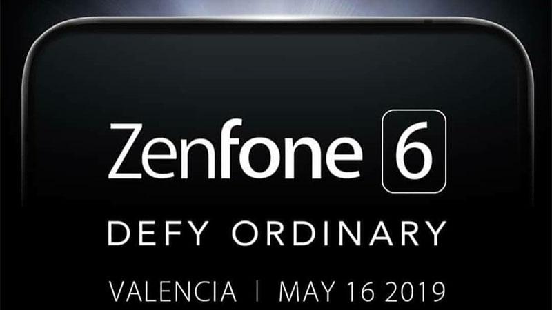 ASUS ZenFone 6 será lançado dia 16 de maio em Valência na Espanha