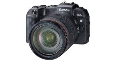 Câmera EOS RP Full-Frame da Canon é anunciado oficialmente