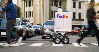 Conheça o robô de entrega autônoma da FedEx