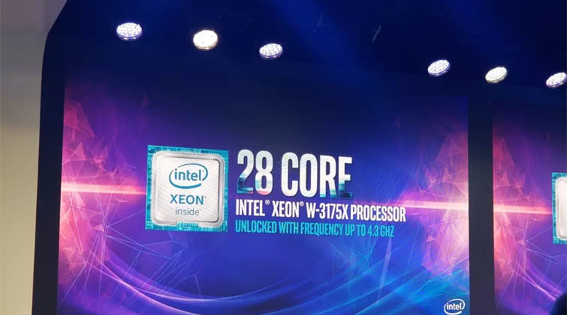 Processador de 28 núcleos da Intel chegará ao mercado custando US$ 2.999