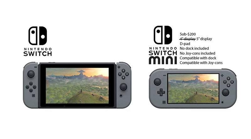 Rumores dizem que a Nintendo lançará uma versão menor e mais barata do Switch ainda essa ano