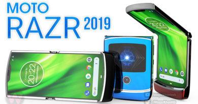 Veja o novo conceito do Motorola Razr 2019