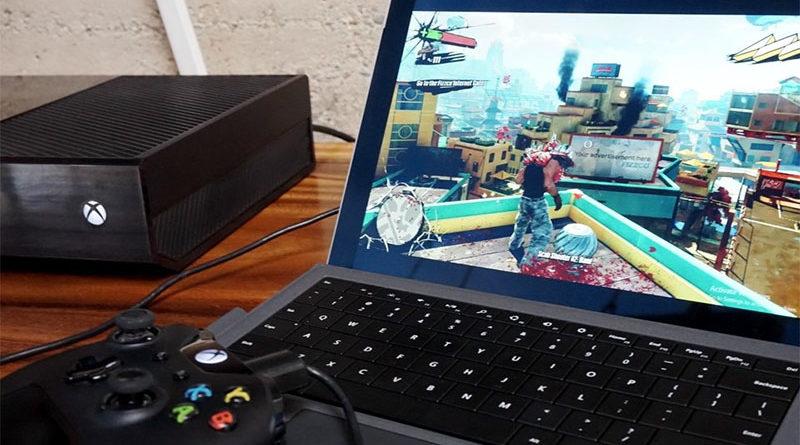 Agora é possível transmitir jogos do PC no Xbox One