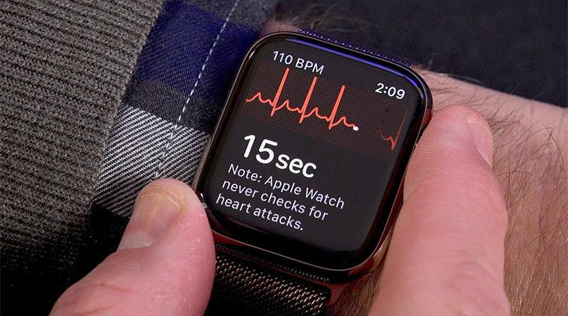 Apple Watch Series 5 poderá ter capacidade de detectar ataque cardíaco
