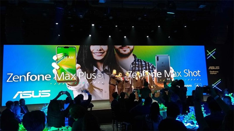 Asus lança no brasil o Zenfone Max Shot e ZenFone Max Plus M2