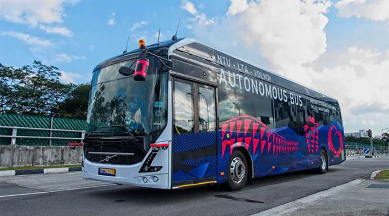 Cingapura vai começar a testar ônibus autônomos da Volvo