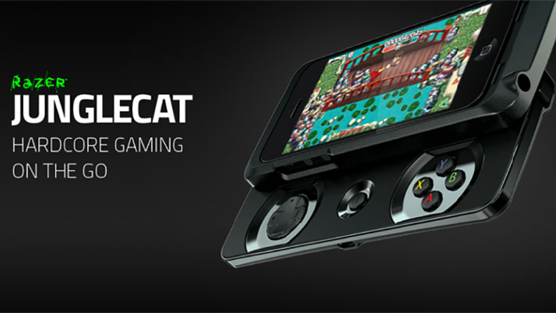 Conheça o Razer Junglecat, Gamepad que transforma seu iPhone num tipo de PSP