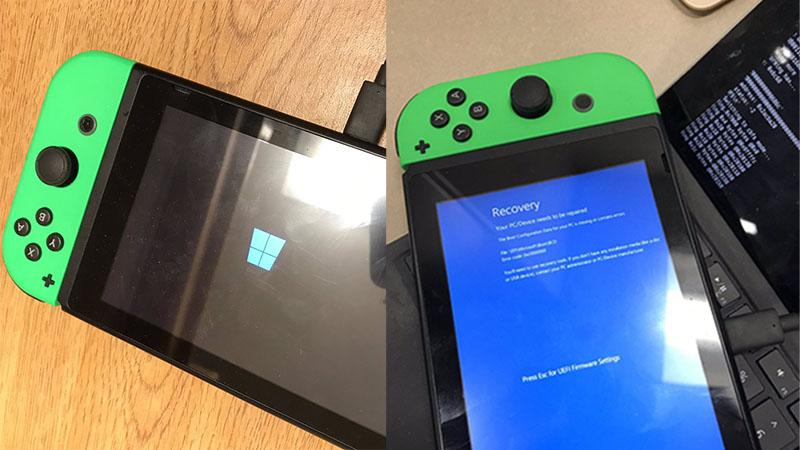 Desenvolvedor consegue fazer Windows 10 rodar no Nintendo Switch