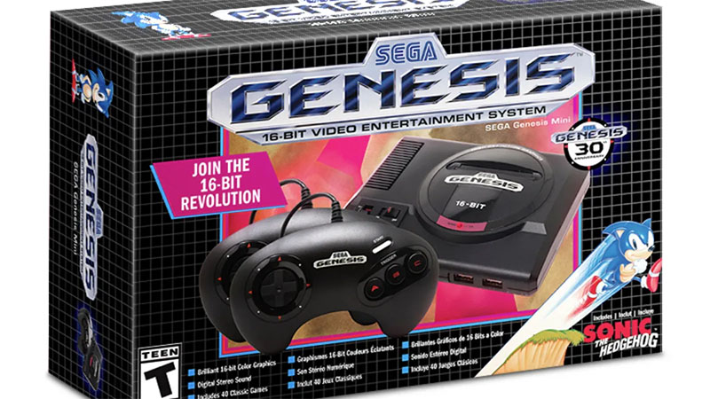 Mega Drive Mini da Sega fará estreia mundial em 19 de setembro