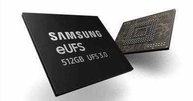 Novo armazenamento flash da samsung será duas vezes mais rápido