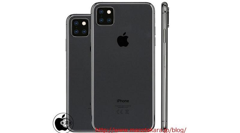 Novo rumor aponta que os Iphones 2019 devem chegar com 3 câmeras traseiras