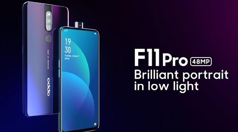 Oppo F11 Pro chega com câmera de 48 MP e potente bateria de 4.000 mAh