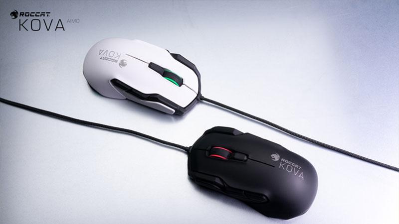 Roccat lança mouse que não atrapalha os jogadores canhoto