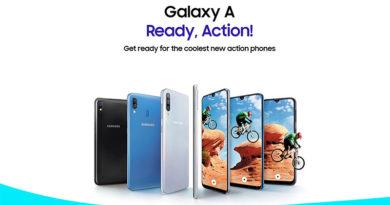 Samsung Galaxy A10, A30, A50 e A90 está a caminho
